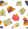 money usd cash american dollar banknotes and vector image vector image