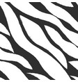 monochrome waves pattern vector image vector image