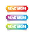 read more button set vector image