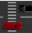 Urban road vector image vector image