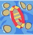 water sports equipment vector image vector image