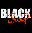 black friday banner design vector image vector image