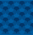 blue geometric wallart seamless motif vector image