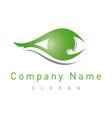 optometrist logo vector image vector image