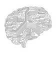 sing of brain sing of brain vector image vector image