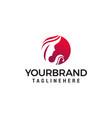 women face beauty logo design concept template vector image