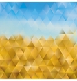 Abstract geometric background of triangular vector image