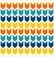 Boho geometric arrows pattern