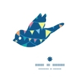 colorful doodle bunting flags bird silhouette vector image vector image