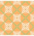 orange floral pattern with renaissance motifs vector image vector image