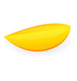 piece of mango icon cartoon style vector image