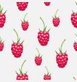 seamless pattern raspberries autumn fruit patt