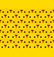 smiley seamless pattern smiley shows the language vector image vector image