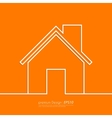 Stock Linear icon house vector image vector image