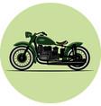 vintage motorcycle vintage a retro vector image