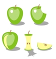 Apple color 02 vector image