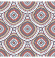 beautiful boho chic seamless repeat pattern vector image