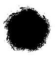 distress blot texture vector image vector image