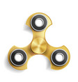 hand spinner toy fidgeting hand toy for stress vector image