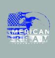 american dream vector image vector image