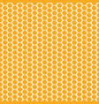 cute cartoon honeycomb seamless pattern background vector image
