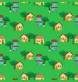 housepattern vector image vector image