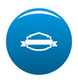 badge banner icon blue vector image vector image