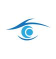 Eye care Logo Template vector image vector image