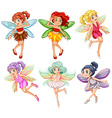 Fairies vector image