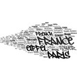 france word cloud concept vector image vector image