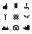 light meal icons set simple style vector image