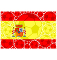 Spain soccer balls vector image vector image