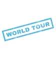 World Tour Rubber Stamp vector image vector image