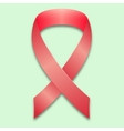 The symbol of the fight against breast cancer vector image