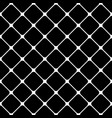abstract geometric black and white seamless vector image vector image