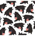 animal wild boar pattern vector image vector image