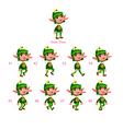 animation dwarf walking vector image vector image