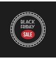 Black Friday Label vector image vector image