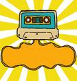cassette ribbon vector image