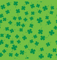 four leaf clover seamless vector image