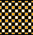 geometrical repeating pattern - square background vector image vector image