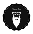 Isolated hipster label vector image vector image