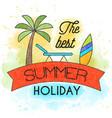 summer 55 vector image vector image