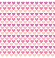 valentine seamless polka dot pattern with colorful vector image vector image