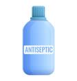 antiseptic bottle icon cartoon style