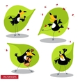 Cartoon toucan vector image vector image
