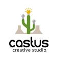 Castus Design vector image vector image