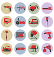 electric power tools vector image vector image