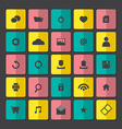 Modern Website Icons Set vector image vector image