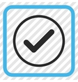 Ok Icon In a Frame vector image